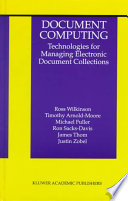 Document Computing