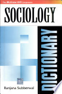 Dictionary Of Sociology