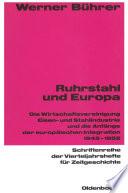 Ruhrstahl und Europa