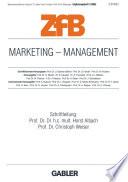 Marketing — Management