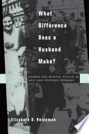 What Difference Does a Husband Make