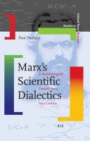 Marx's Scientific Dialectics