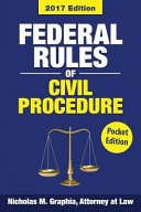 Federal Rules of Civil Procedure 2017