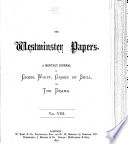Westminster Papers Book PDF