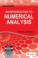 AN INTRODUCTION TO NUMERICAL ANALYSIS  2ND ED