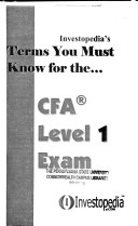 Chartered Financial Analyst Level One Exam