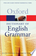 OXFORD DIC ENGLISH GRAMMAR P