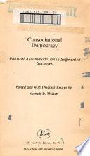Consociational Democracy