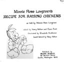 Minnie Rose Lovgreen s recipe for raising chickens