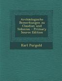 Archaologische Bemerkungen Zu Claudian Und Sidonius