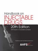 Handbook On Injectable Drugs R