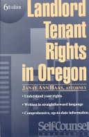 Landlord Tenant Rights in Oregon