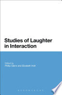 Studies of Laughter in Interaction A Range Of Different Kinds Of Interactions