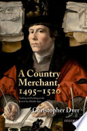 A Country Merchant  1495 1520