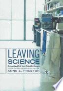 Leaving Science