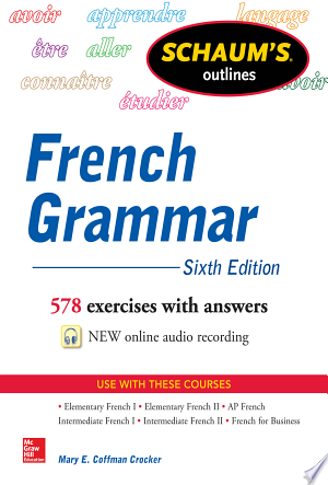 Schaum's Outline Of French Grammar - Isbn:9780071828987 img-1