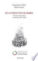 Les confettis de Babel