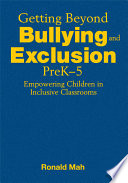 Getting Beyond Bullying and Exclusion  PreK 5