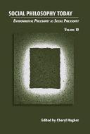 Environmental Philosophy as Social Philosophy