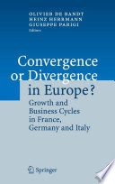Convergence or Divergence in Europe