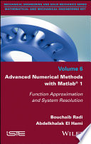 Advanced Numerical Methods with Matlab 1