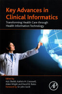 Key Advances in Clinical Informatics Health Information Technology Provides A State Of The Art