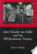 Jean Claude Van Itallie and the Off broadway Theater