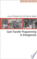 Cash transfer Programming in Emergencies