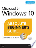 Windows 10 Absolute Beginner S Guide Includes Content Update Program