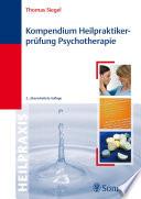 Kompendium Heilpraktikerpr  fung Psychotherapie