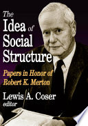 The Idea of Social Structure