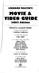 Leonard Maltin's Movie and Video Guide