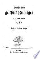 Gothaische gelehrte Zeitungen