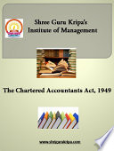 Chartered Accountant Act  1949