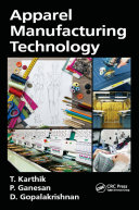 Apparel Manufacturing Technology book