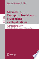 Advances In Conceptual Modeling Foundations And Applications
