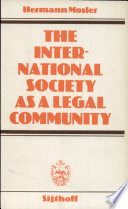 The International Society as a Legal Community