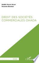 Droit Des Soci T S Commerciales Ohada