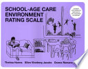 School Age Care Environment Rating Scale