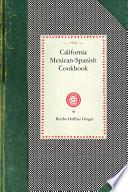 Book California Mexican Spanish Cookbook