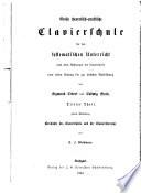 Geschichte des Clavierspiels und der Clavierliteratur
