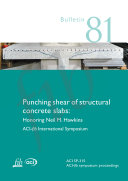 Punching shear of structural concrete slabs: