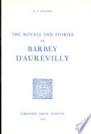 The Novels and Stories of Barbey D'Aurevilly