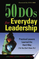 50 Dos for Everyday Leadership
