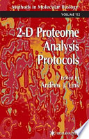 2 d Proteome Analysis Protocols