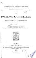 Souvenirs d'un président d'Assies (1880-1890)