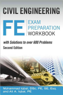 Civil Engineering FE Exam Preparation Workbook