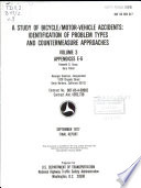 A Study of Bicycle/motor-vehicle Accidents