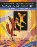 Experiments for Introduction to Organic Chemistry