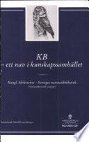 KB - ett nav i kunskapssamhället